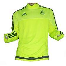 Real Madrid Trainingstop Sweatshirt Yellow 2015/16 Adidas Medium