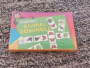 Brand New, Sealed Sebastian's Animal Dominoes