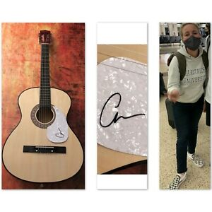 GFA Classic & Burning House Country Star CAM Signed Acoustic Guitar C2 COA