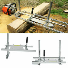 Portable Chainsaw Mill 2024inch Planking Milling Bar Size Aluminum Alloysteel