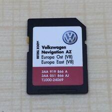 RN 315 V8 Navigation Carte SD AZ pour Europe de l'est 2017 VW SEAT SKODA dernière