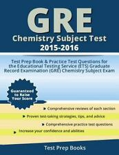 GRE Chemistry Subject Test 2015-2016: Test Prep Book & Practice Test Questions