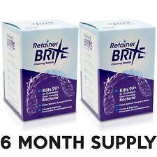 Retainer Brite 2 Pack -  6 Months Supply ( 192 Tablets )