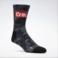 Reebok CrossFit Unisex Printed Camo Crew Socks 1 pair EC5720