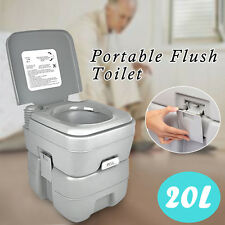 20L Portable Toilet Camping Potty Restroom Travel Outdoor Camping Hiking