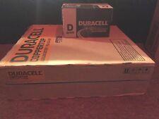 Duracell Coppertop Batteries D2 48 pack case Expires March 2027
