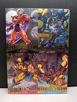 Marvel Metal 1995 Inaugural Edition Uncut Promo Sheet