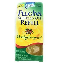 Glade Plugins Scented Oil Holiday Evergreen Refill New In Box Plug In