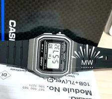CASIO F91WM-1B DIGITAL BLACK RESIN Classic Sports Alarm Chronograph WATCH NEW