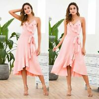 Sundress Cocktail Dresses Short Women Party Maxi Dress Evening Summer Beach
