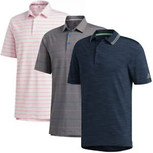 NEW Mens Prior Season Adidas Assorted Golf Polo 3 Pack $225 Retail - Choose Size