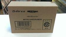 D-Arts Digimon Adventure Metal Garurumon BANDAI Action Figure Box