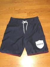 Mens MAKIA Nautical Sailing Navy Blue Shorts  30