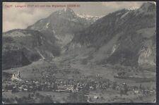 33228) Schweiz AK Lungern und das Wylerhorn 1909 Brünig gelaufen