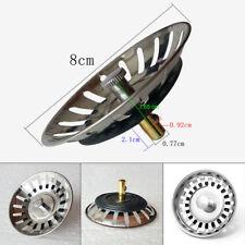 Premium Kitchen Sink Replacement Drain Waste Plug Basin Strainer Drainer New