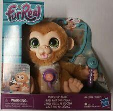FurReal Check-up Zandi Interactive Plush Fur Real Pet Monkey Kids 4+ Toys New