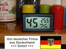 Digital Hygrometer Thermometer, Luftfeuchtigkeit, Wohnwagen, Boot, Zelt