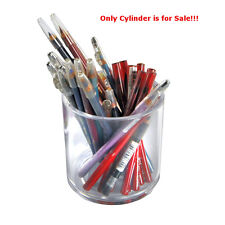 Styrene Clear Cylinder Display Bin 4H x 4D Inches - Case of 4