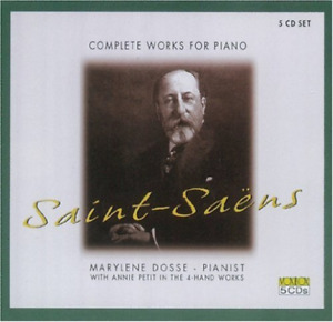 SAINT-SAENS / DOSSE-COMPLETE WORKS FOR PIANO (US IMPORT) CD NEW