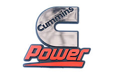 Cummins Diesel Engines Dodge Truck Power Automotive Badge Chrome Emblem Decal