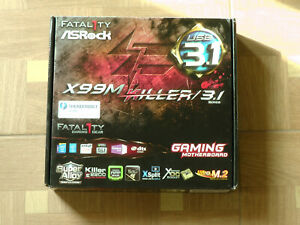 Asrock Fatal1ty X99M Killer/3.1