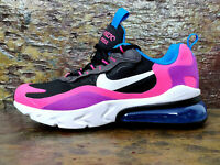 Nike Air Max 270 React GS - Uk 6 Eur 39 - 'Hyper Pink Vivid Purple' - BQ0101 001