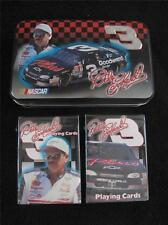 1990's COLLECTORS DOUBLE PACK OF PLAYING CARDS & TIN - NASCAR - DALE EARNHARDT
