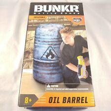 BUNKR Battle Zones Inflatable Oil Barrel Bunker Official Product NBL,Toy