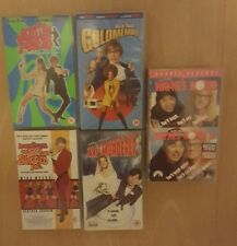 Mike Myers VHS bundle Austin Powers Waynes World So i married an axe muderer