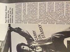 m9-9m ephemera 1970/s film article paul michael glaser on tv supercop starsky