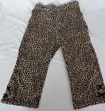 Vintage Gymboree Glamour Kitty 3T Animal Print Pants Toddler Girl Gold Black