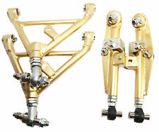 GOLD For Nissan 240SX S13 S14 SR20 SR20DET Front & Rear Lower Control Arm