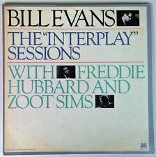 BILL EVANS WITH FREDDIE HUBBARD & ZOOT SIMS THE INTERPLAY SESSIONS 2LP MILESTONE