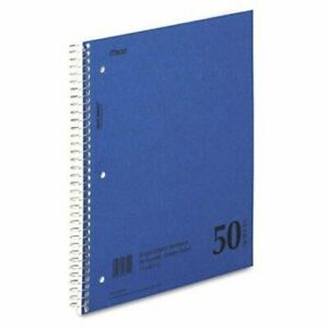 """Mead Mid Tier Notebook - 100 Sheet - 15 Lb - College Ruled - Letter 8.50"""" X 11"""""""