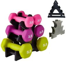 Dumbbell Rack Stand Weightlifting Holder Floor Bracket Dumbbell Home Organizer