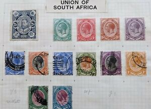 SOUTH AFRICA STAMPS: NICE COLLECTION OF EARLY STAMPS MINT & USED, HIGH CAT VAL