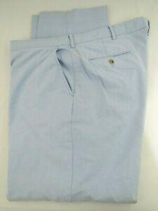 $125 Polo Ralph Lauren Powder Blue Cotton Pants Size  38/30