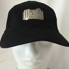 Wicked Pictures Dot Com Baseball Cap Hat Black Metal Patch Adult Film