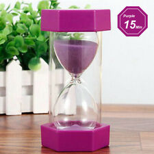 1-60min Hourglass Sand Timer Wooden Hour Glass Sand Clock Home Decoration Gift