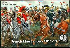 Waterloo 1815 Miniatures 1/72 FRENCH LINE LANCERS 1811-1815 Figure Set