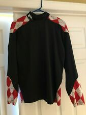 Boys Flow Society Black, Red, White Long Sleeve Shirt Size Youth XL