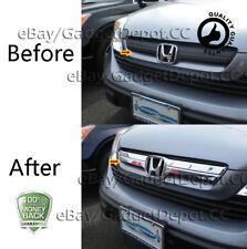 For 2007 2008 2009 Honda CR-V CRV ABS Chrome Upper Grille w/ Logo Show