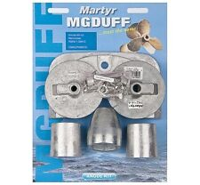 MG Duff Martyr Mercury / Mercruiser Zinc Anode Bravo 3 Kit + 2004 CMBRAVO3KITZ