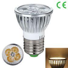 1/5/10PCS E27 GU10 MR16 LED Light Spotlight Lamp Bulb Dimmable Cool/Warm White