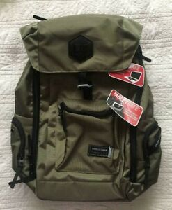 """New Swiss Gear Backpack Olive For Up To Most 15"""" Laptop Also Tablet Pocket"""
