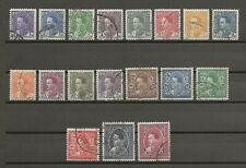 More details for iraq 1934/8 sg 172/89 used cat £50