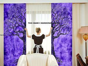 Indian Mandala Tree of Life Curtains Drapes Wall Decor Curtain Valances Tapestry