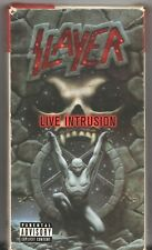 Movie VHS Cassette - SLAYER: LIVE INTRUSION - Pre-Owned w/ Sleeve