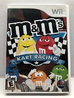 M&M's Kart Racing for Nintendo Wii - Complete w/ Manual - Tested - Free Ship