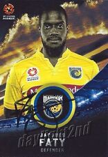 ✺Signed✺ 2016 2017 CENTRAL COAST MARINERS A-League Card JACQUES FATY